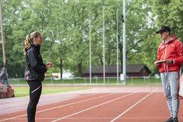 """Ajla Del Ponte: """"Apprendre à mieux me connaître en tant qu'athlète"""""""