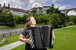 Christel, une fille dans le vent
