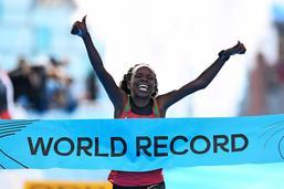 Un nouveau record du monde pour Jepchirchir