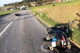 Deux élèves conducteurs accidentés à Ursy