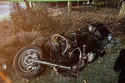 Un motocycliste gravement blessé