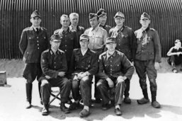 Les officiers allemands de Mulsanne