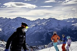 Le ski reste possible