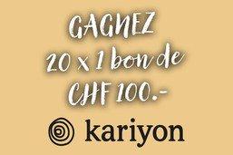 [CONCOURS LECTEURS] Kariyon