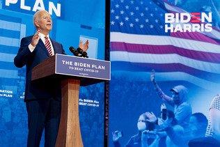 """Joe Biden promet un vaccin gratuit """"pour tous"""" s'il est élu"""