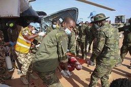 Trois Casques bleus ivoiriens tués dans une attaque