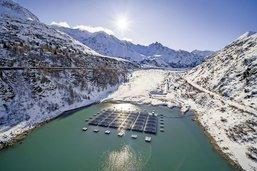 Parc solaire flottant primé en Valais