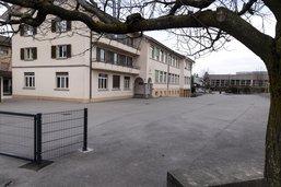 Cercle scolaire de Belmont-Broye à l'arrêt