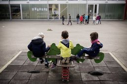 Vaudois scolarisés à Estavayer
