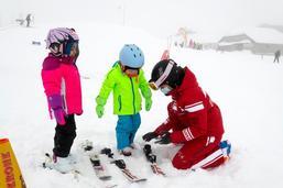 On skie à Charmey