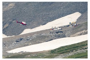 """""""Pilotage très risqué"""" en cause dans le crash du Ju-52 (rapport)"""