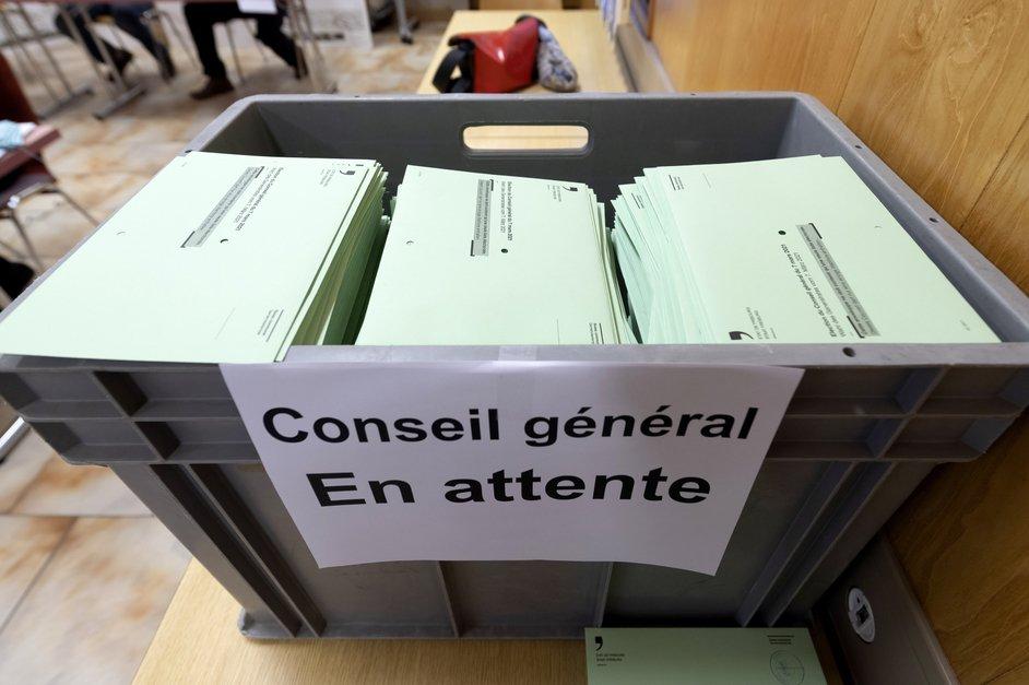 Ambiance un jour de vote à Châtel-St-Denis