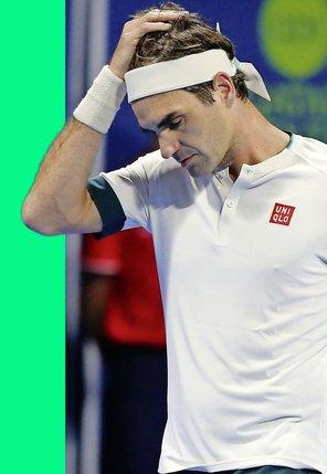 Roger Federer craque le jour d'après