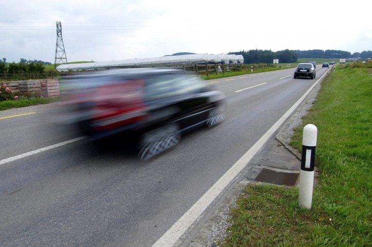 Un automobiliste pincé à 152 kilomètres à l'heure