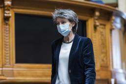 Simonetta Sommaruga s'est fait vacciner