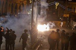 Nouveaux heurts à Jérusalem, malgré un appel au calme de Netanyahou