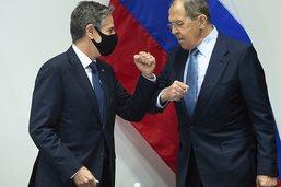 Appel à la coopération pour la première rencontre Lavrov-Blinken