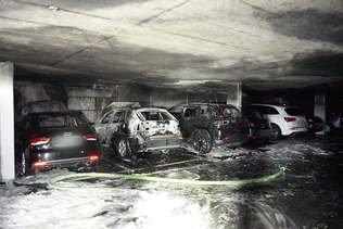 Incendie dans un parking souterrain à Villars-sur-Glâne