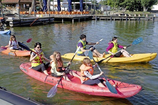 La Grande Cariçaie en mode kayak