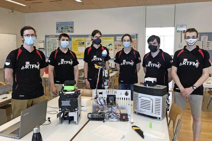 Les rois suisses des robots