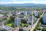 Un nouveau quartier de 350 appartements à Fribourg