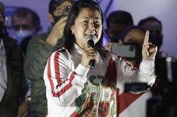 Fujimori dénonce des fraudes, rassemblements de partisans