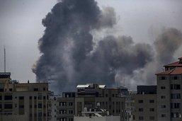 Bombardements aériens israéliens dans la bande de Gaza