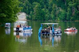 Concert flottant sur le lac de Schiffenen