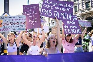 Lausanne: 10'000 personnes ont défilé pour crier leur colère