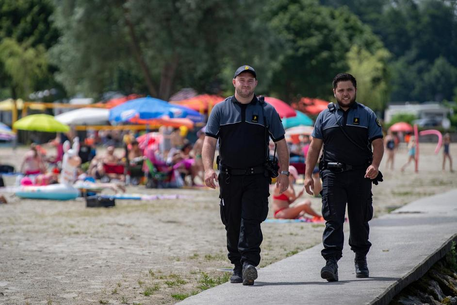 L'ordre règne sur la plage de Portalban