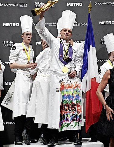 La France gagne le Bocuse d'or