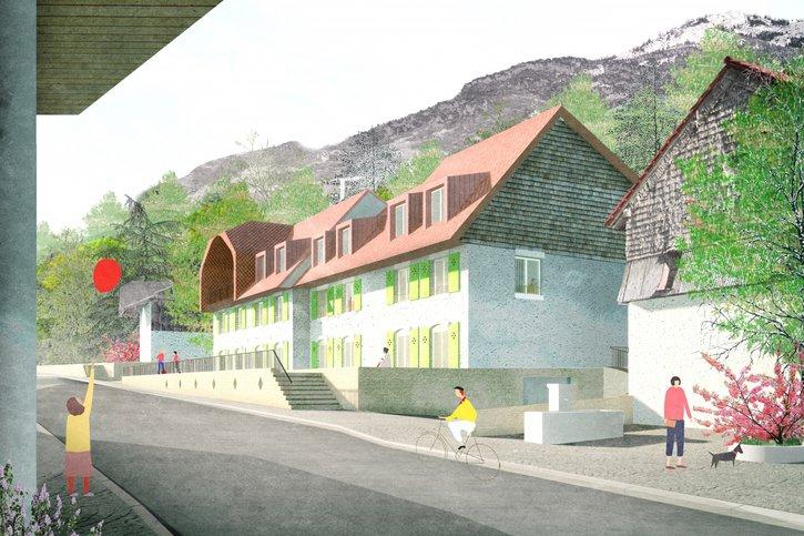 Le centre de Villars-sous-Mont inspire seize projets