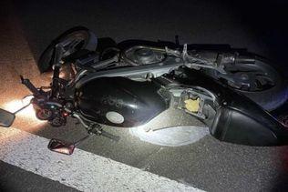 Motocycliste grièvement blessé: avant-bras arraché