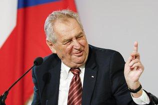 Le président tchèque incapable d'assurer ses fonctions (pdt Sénat)